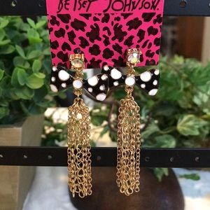 Cutest Betsey Johnson Bow Earrings! NWT!